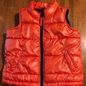 2t orange Old Navy vest